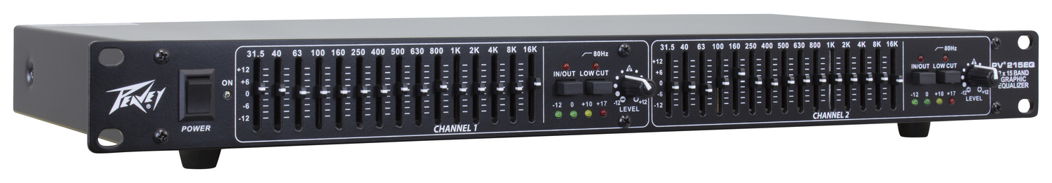 PV® 215EQ Dual 15 Band Rack Mount Equalizer