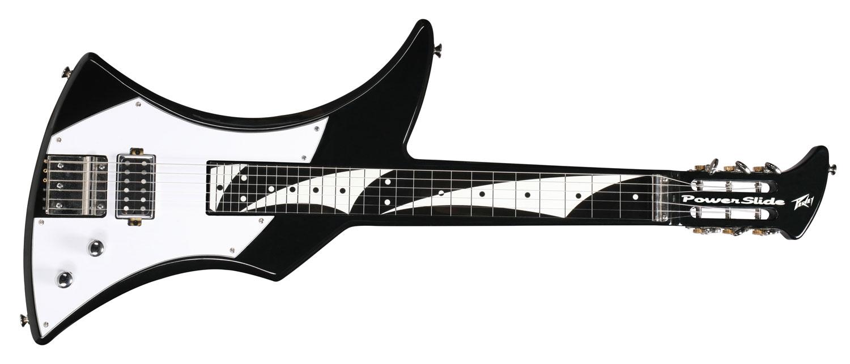 Powerslide Black Steel Guitar Wiring Diagram Power Slide Back Front