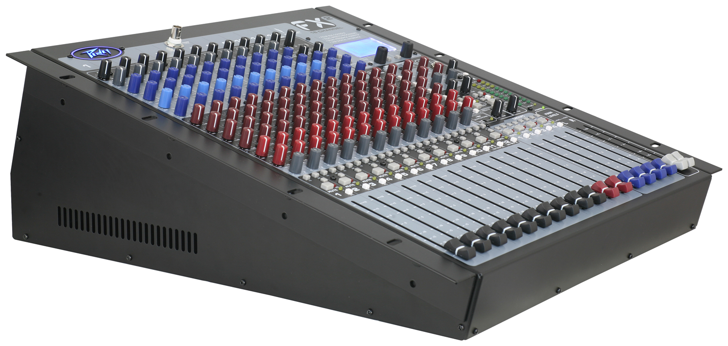 fx 2 16 channel non powered mixer with usb and effects peavey. Black Bedroom Furniture Sets. Home Design Ideas