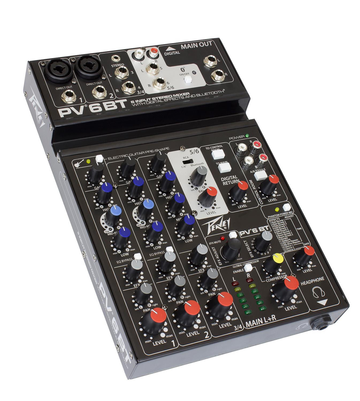 pv 6 bt peavey com rh peavey com peavey pv6 mixer manual pdf peavey pv6 mixer manual