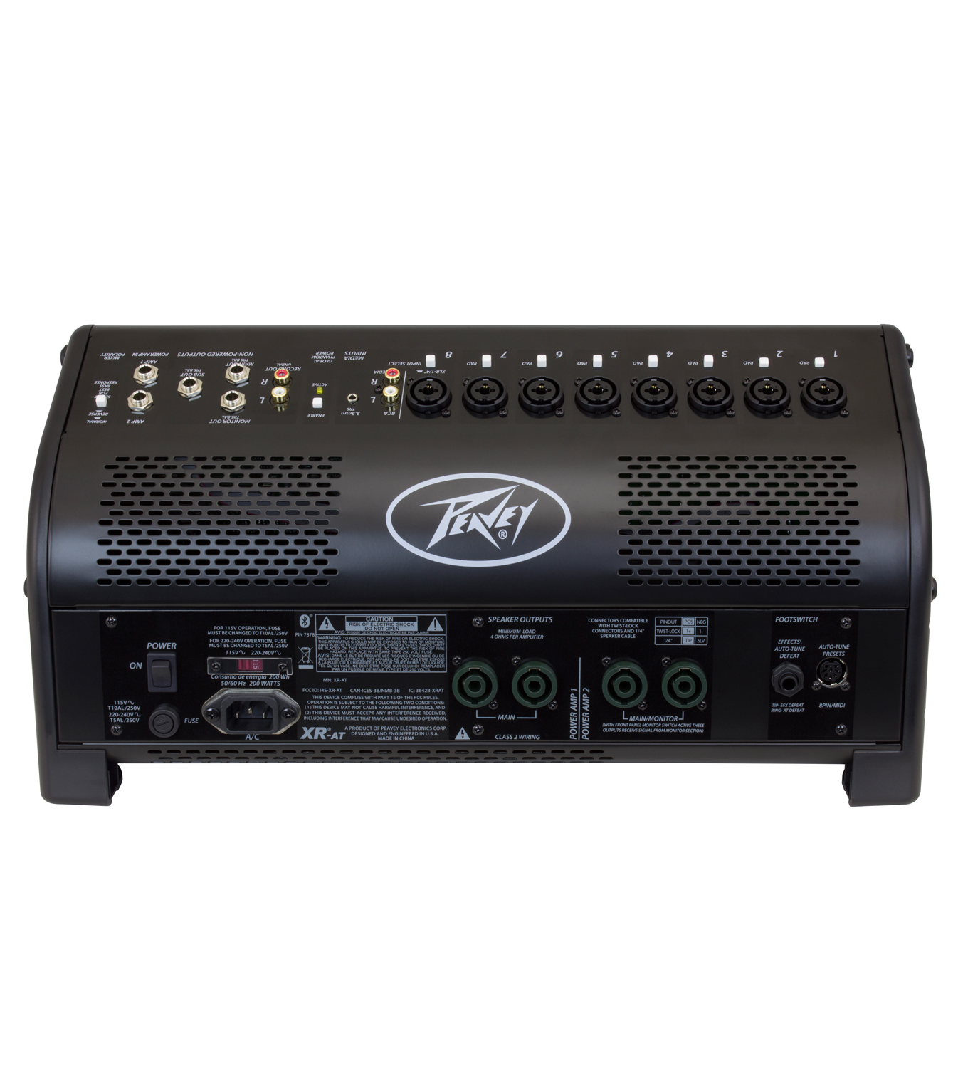 xr at powered mixer peavey com rh peavey com Word Manual Guide User Guide Template