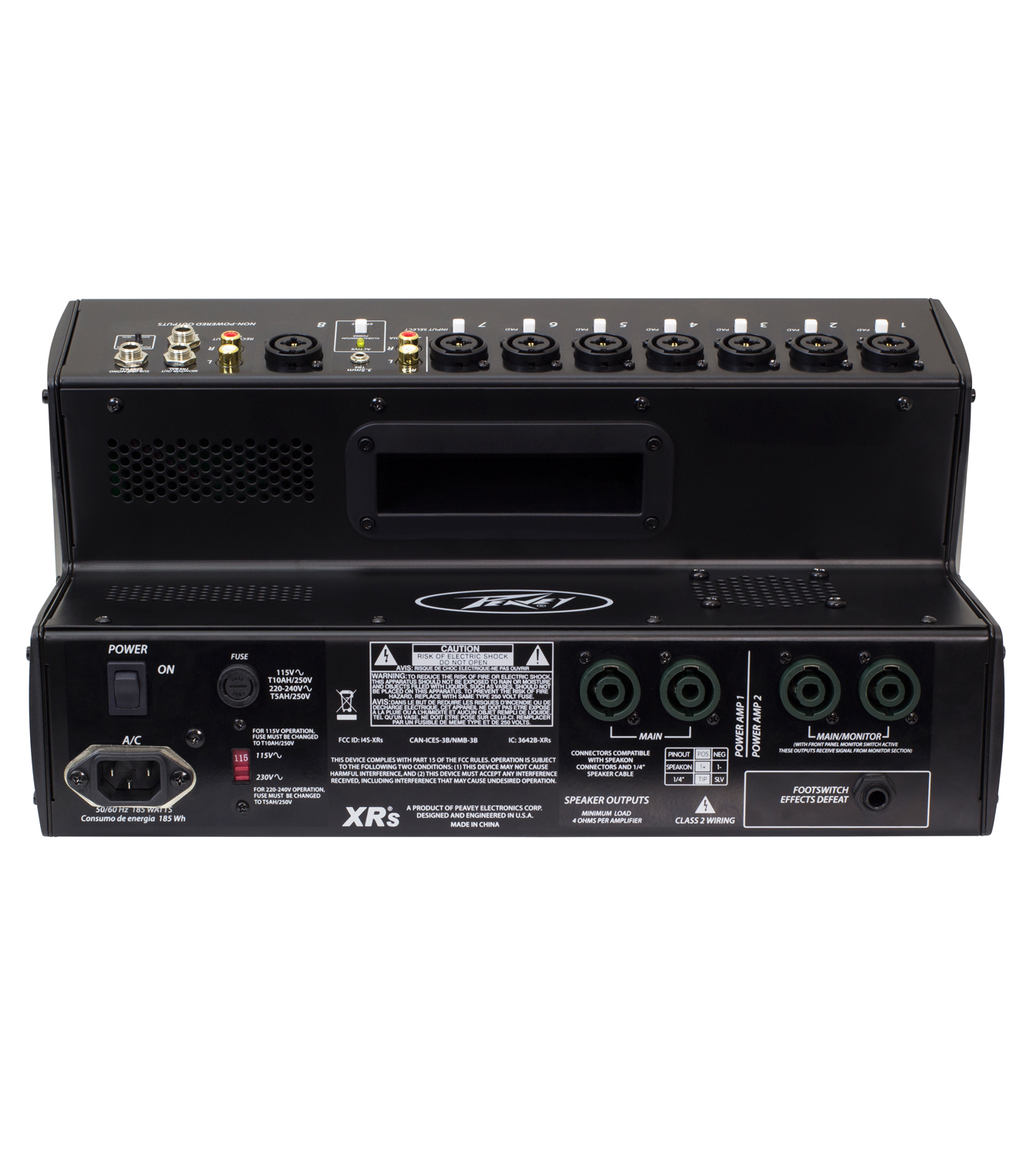 xr s powered mixer peavey. Black Bedroom Furniture Sets. Home Design Ideas