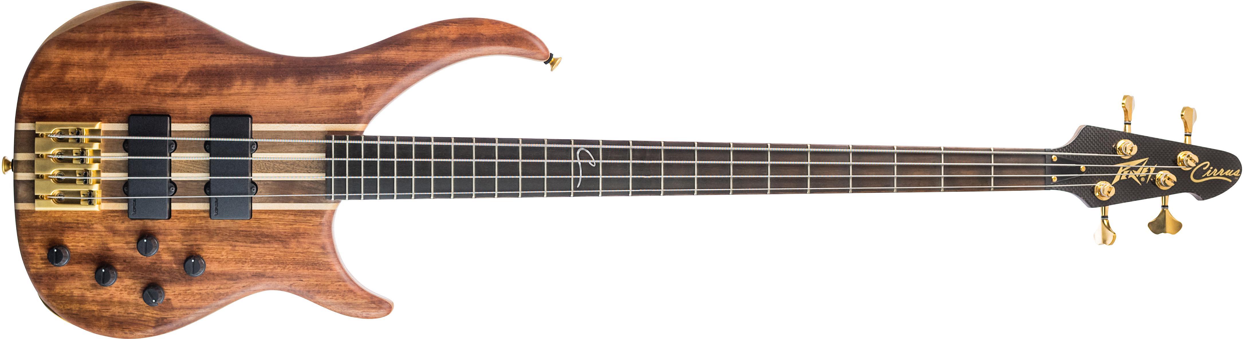cirrus 4 bubinga 4 string bass guitar peavey. Black Bedroom Furniture Sets. Home Design Ideas
