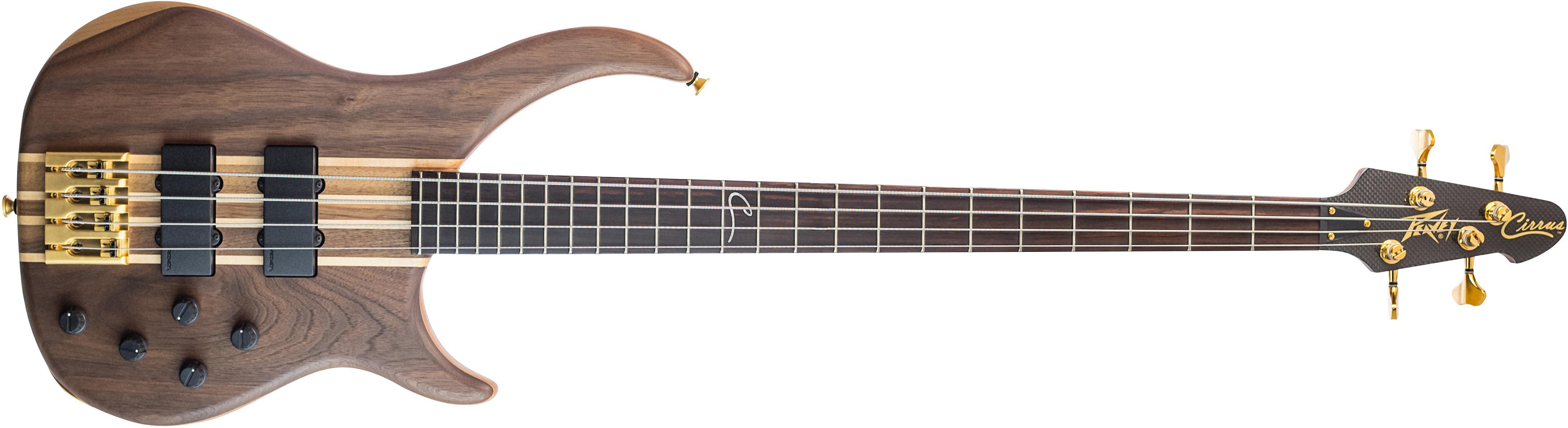 cirrus 4 walnut 4 string bass guitar peavey. Black Bedroom Furniture Sets. Home Design Ideas