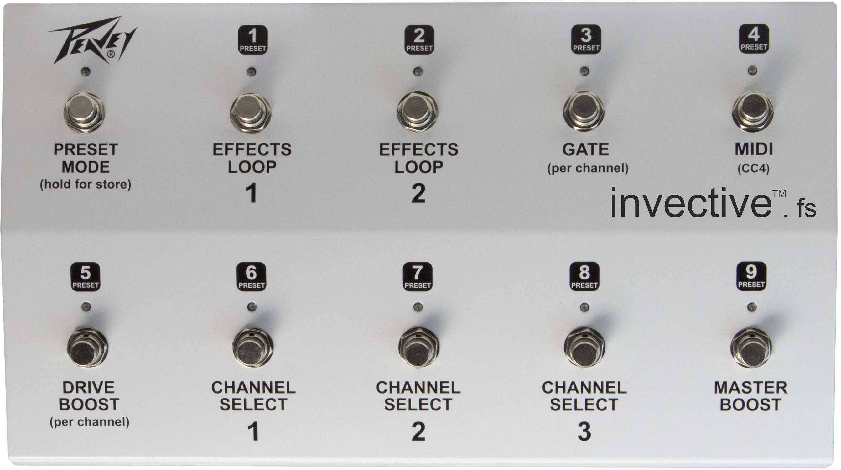 invective™.120 Head : Peavey.com