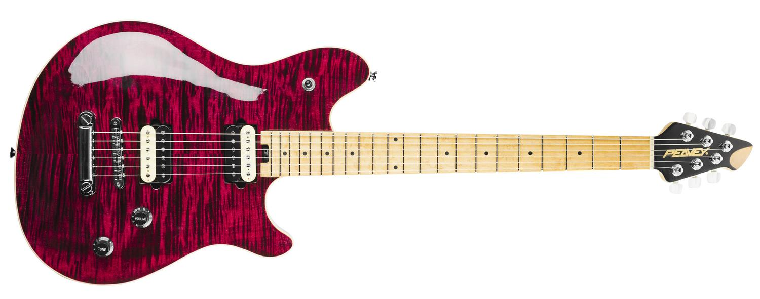 Hp 174 2 St Transparent Wine Red Electric Guitar Peavey