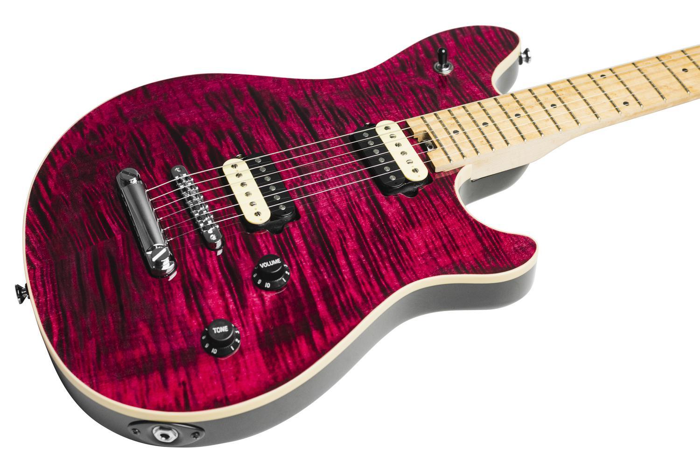 hp 2 st transparent wine red electric guitar peavey. Black Bedroom Furniture Sets. Home Design Ideas