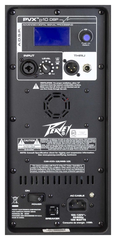 PVXp™ 10 DSP 510-Watt 10 inch Powered Speaker