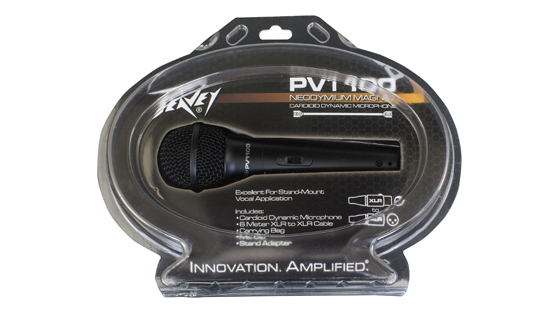 PV®i 100 XLR Packaging