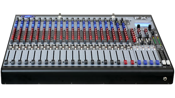 FX™2 24 Channel Non-Powered Mixer with USB and Effects