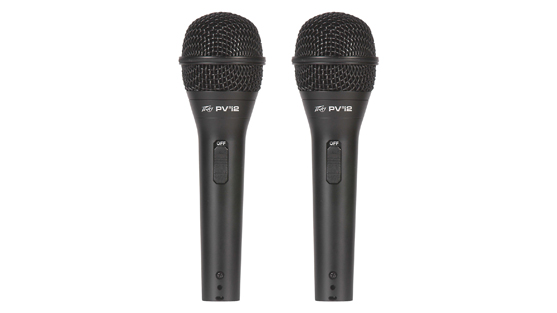 PV®i 2   Cardioid Unidirectional Dynamic Vocal Microphone (2 Pack)