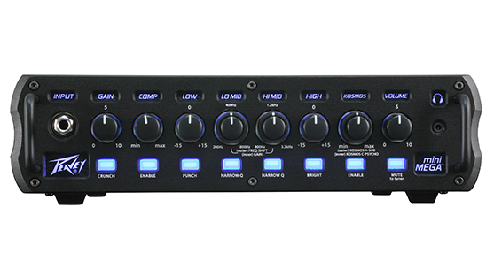 MiniMEGA™ 1000-Watt Mini Bass Amp Head