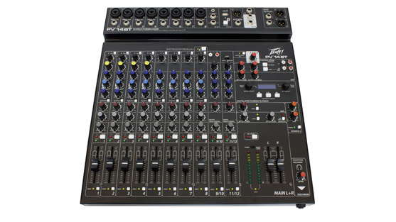 PV® 14 BT 14 Channel Compact Mixer with Bluetooth