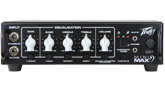 MiniMAX™ 500-Watt Mini Bass Amp Head