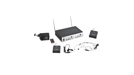 PV 16DR CHANNEL UHF DUAL RECEIVER - BL - BHS