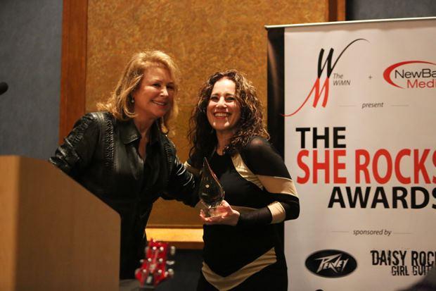 Mary Peavey Receives She Rocks Icon Award