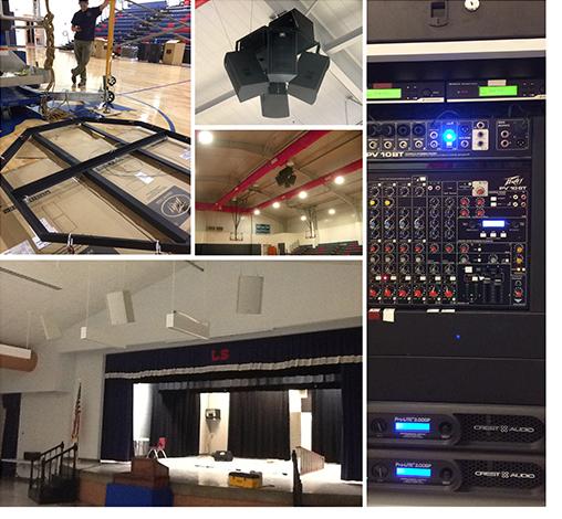 Lamar School Peavey sound systems